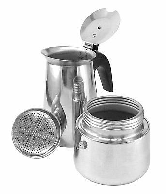 Stainless Steel Coffee Maker Stovetop 4
