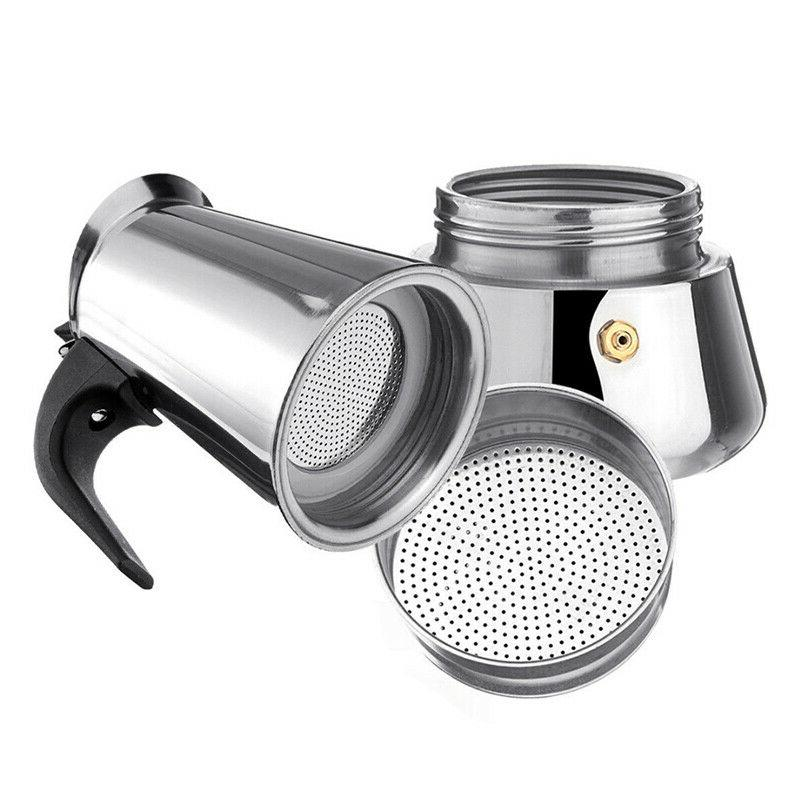Stainless Coffee Maker Moka Percolator