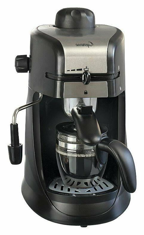 Steam Coffee Maker Steel