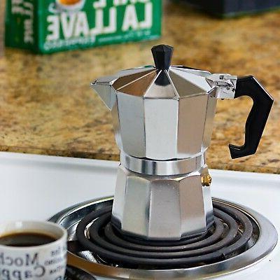 Stove Top Espresso Cafetera Cubana Expreso