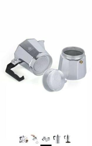 Maggift Espresso Moka Aluminum