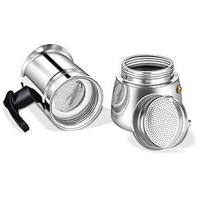 Stovetop Pots Maker 6 Cups Steel