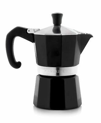 stovetop espresso maker moka pot black 3