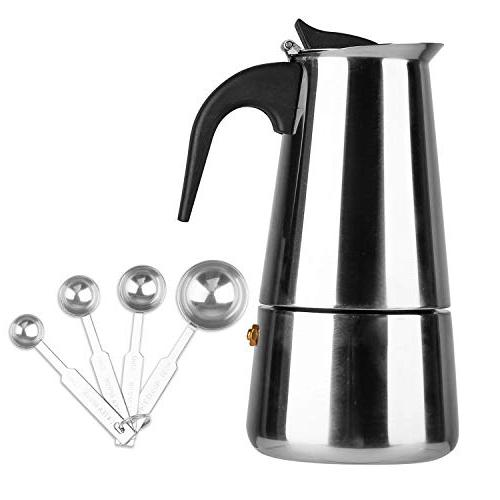 stovetop espresso maker stainless steel