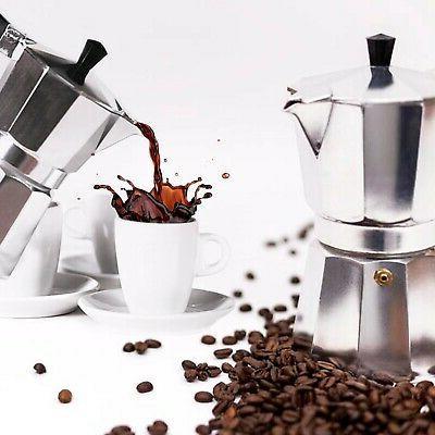 Strove Espresso Moka Cafetera Cubana Italiana. 3 cup