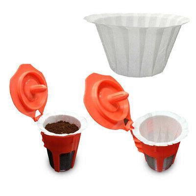 Tea Coffee filters Espresso Makers 100Pcs Home Disposable Ki