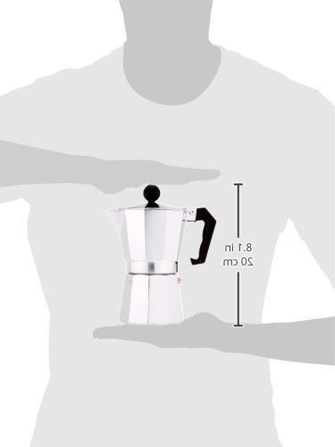 Primula 6 Espresso Maker, Aluminum