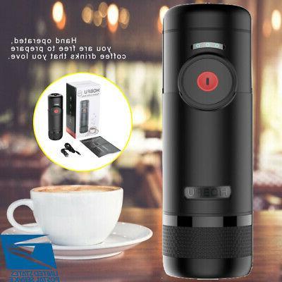 Travel Coffee Maker Portable Espresso Compatible