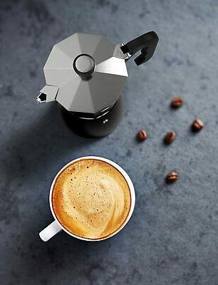 Vremi Stovetop Espresso - Maker Gas Silver