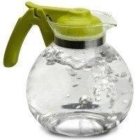Primula 2 Qt. Whistling Teapot / Lime Green Handle