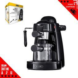 Machine Cappuccino Latte Espresso Coffee Maker wPermanent Fi