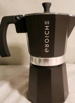 GROSCHE Milano Moka 9-Cup Stovetop Espresso Coffee Maker wit