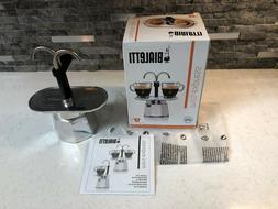 Bialetti Mini Express Stove Top Espresso Maker 2 Cups