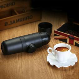 mini thermos portable espresso coffee pod coffee maker handh
