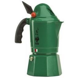 Bialetti Moka Alpina Green Limited Edition 3 Cup Espresso Ma