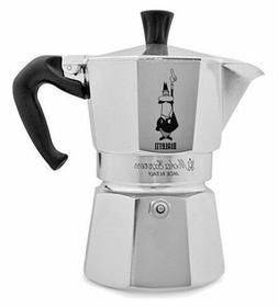 Bialetti Moka Authentic Espresso Coffee Maker Aluminum Gas E