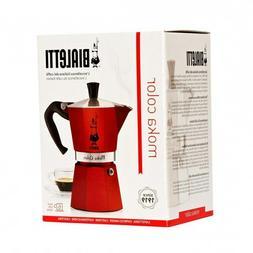 Bialetti Moka Color Espresso Coffee Maker  New