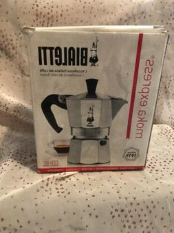 Bialetti Moka Express 06799 Stovetop Espresso Maker Pot Coff