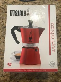 Bialetti Moka Express 6 Cup Stovetop Espresso Coffee Maker P