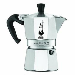 Bialetti Moka Express Aluminum Stovetop Espresso Maker, 3 Cu