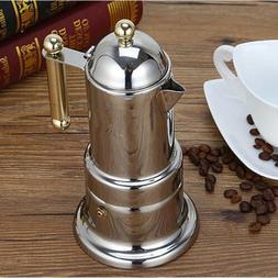 Moka Express Italian Stove-Top Espresso Coffee Maker Percola