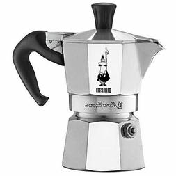 Bialetti Moka Express Aluminum Stovetop Espresso Maker, 1 Cu