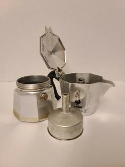 Bialetti Moka Express Stovetop Espresso Coffee Maker Pot
