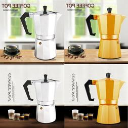 Moka Express Made in Italy 6-Cup Stovetop Espresso Maker Hom