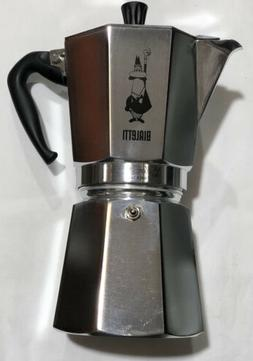 Bialetti Moka Stovetop Coffee Maker, 12-Cup, Aluminum