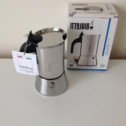 BIALETTI Moka Venus 4 Cups Induction stoves espresso Machine