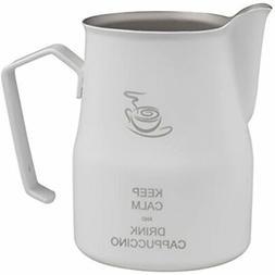 Motta MO-8724/75 Keep Calm Milk Pitcher, White, 75ml Kitchen