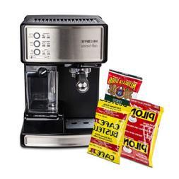 Mr. Coffee BVMC-ECMP1000-CS30 Cafe Barista Espresso Maker wi
