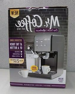 Mr. Coffee 1 Touch 19 Bar Pump Programmable Espresso Maker M