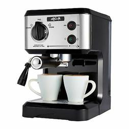 Mr. Coffee 19-Bar Pump Espresso Machine Cappucino Latte Make