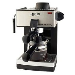 mr coffee 4 cup steam espresso system
