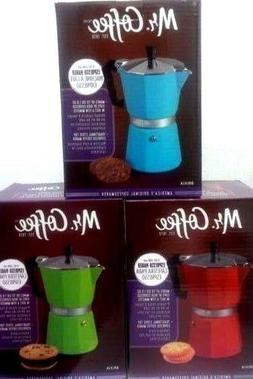 Mr. Coffee 6 Cup Espresso Maker For Stove top
