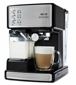 Mr. Coffee Cafe Barista Espresso and Cappuccino Maker, Silve
