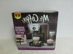 Mr. Coffee Easy Maker Authentic Pump Espresso Machine, 6 Pie