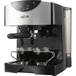 mr coffee pump espresso maker in black