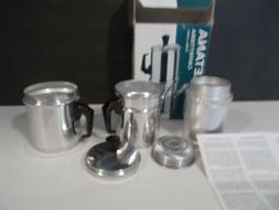 Ilsa Napoletana Classic  Stove top Coffee/Espresso Maker, It