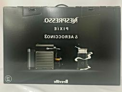 Breville BEC450TTN1AUC1 Pixie Espresso Machine, Titan