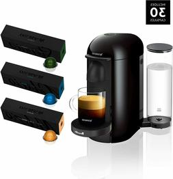 nespresso vertuoplus coffee and espresso maker by