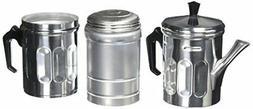 NEW ILSA 30-6 6-Cup Neopolitan Espresso Maker, Aluminum FREE