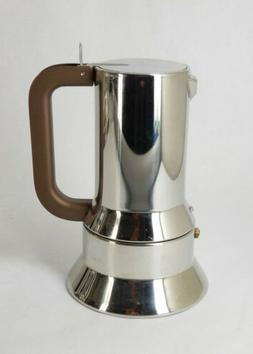 ALLESI Stainless Steel 6-Cup Espresso Maker #9090 by Richard