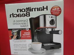 NEW - Hamilton Beach Espresso & Cappuccino Maker 40792