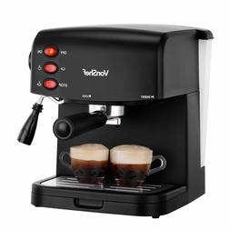 New VonShef Espresso Coffee Machine Maker 15 Bar Cappuccino