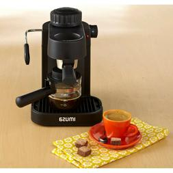NEW Espresso Machine 4 Cup Electric Cappuccino Coffee Maker