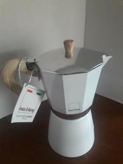 NEW Gnali & Zani Italian Stovetop Expresso Coffee Maker..2 C