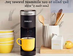 NEW KEURING K-Mini Single Serve, K-Cup Pod COFFEE MAKER, Bla