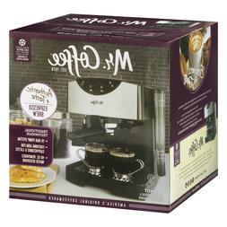 New Kitchen Countertop Mr. Coffee® 2 Shot Pump Espresso Cap